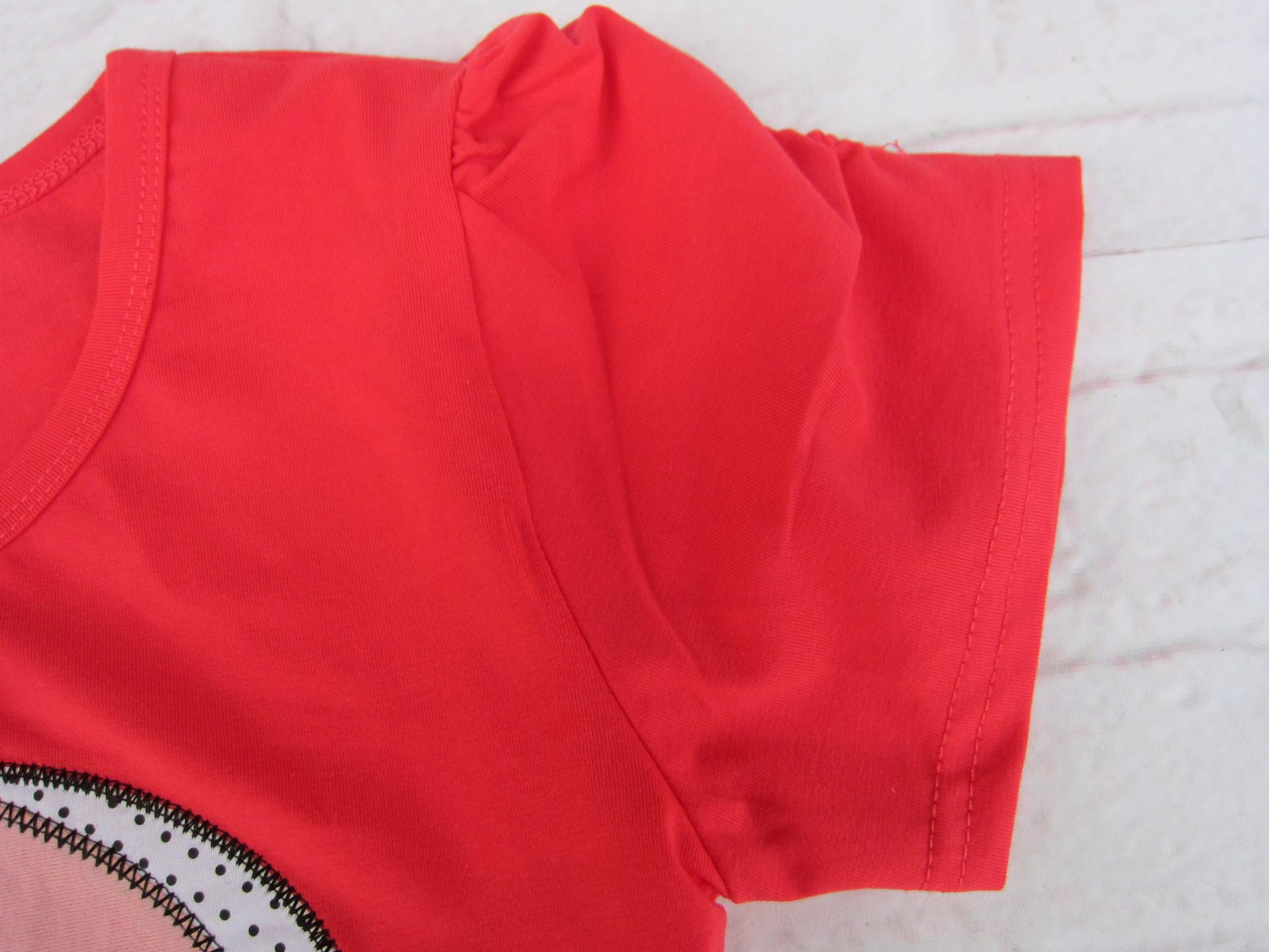 拉架棉短袖 两只天鹅图案 甜美 价格,厂家,图片,童T恤,广州市图片