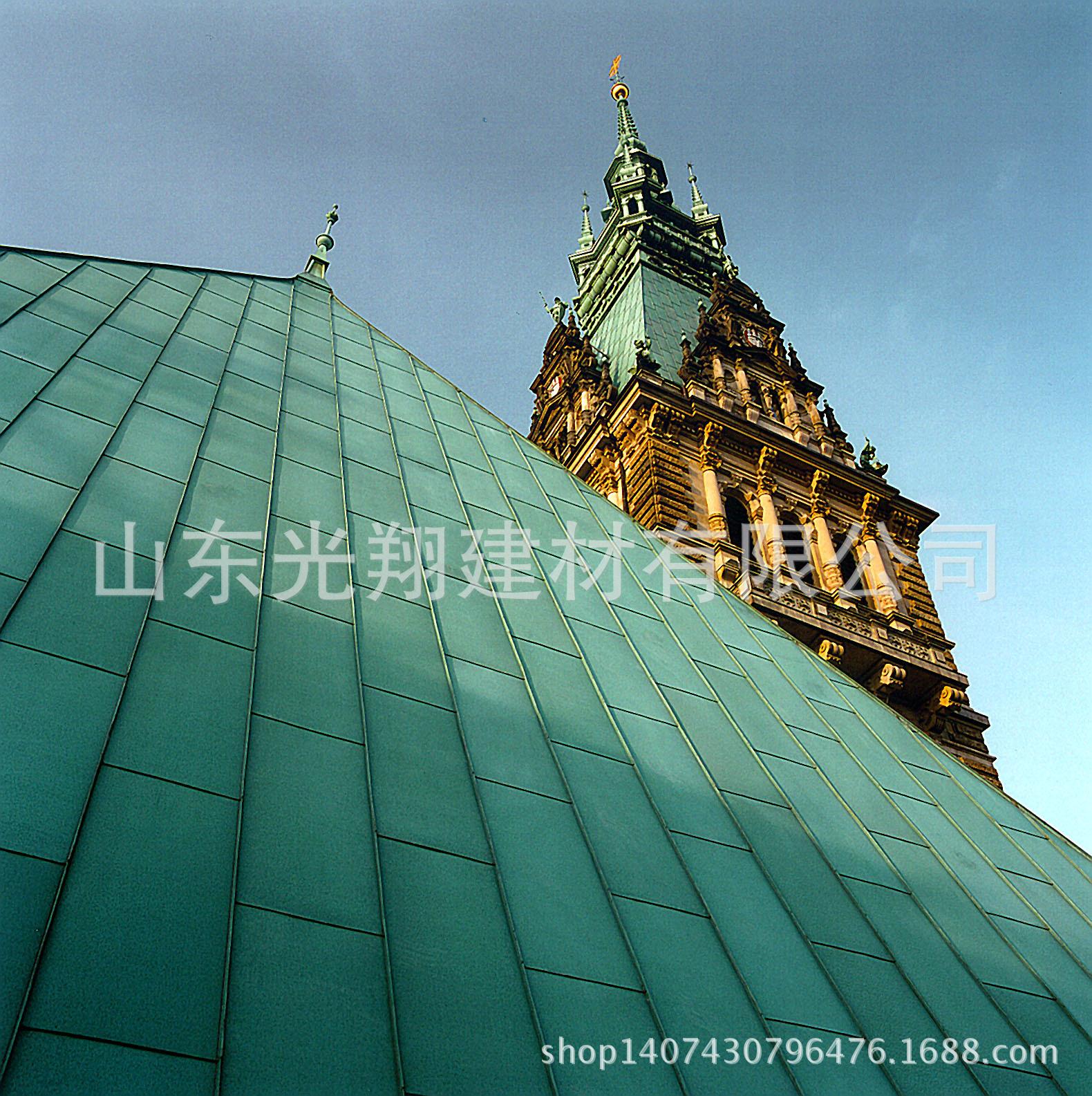 彩石金属瓦 彩钢瓦 屋顶 别墅屋面瓦 阿里巴巴