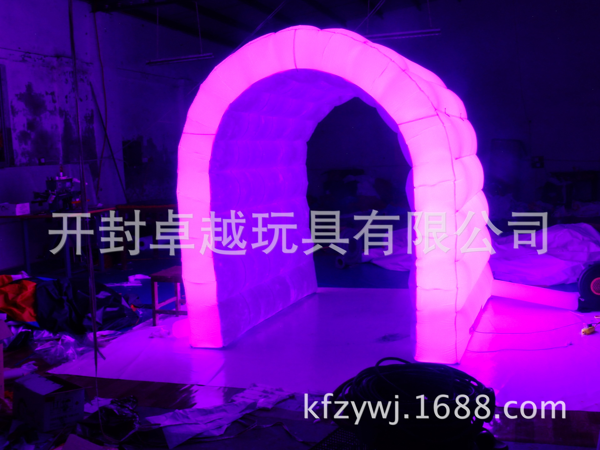 混批荧光帐篷 充气户外产品 展览天幕用品 游乐园广场设备