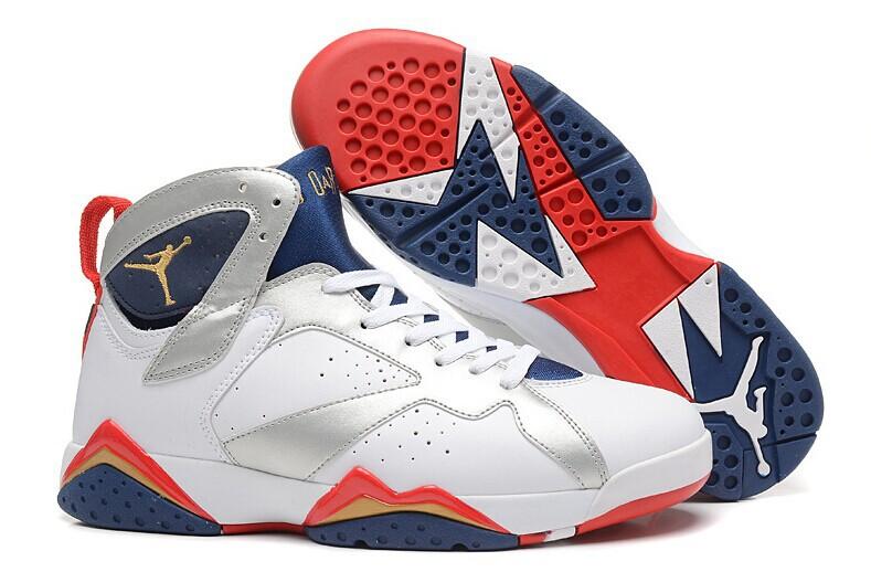 儿童袜 乔7代篮球鞋 jordan7男子代彩蛋运动鞋 AJ7真标钢印款飞人篮