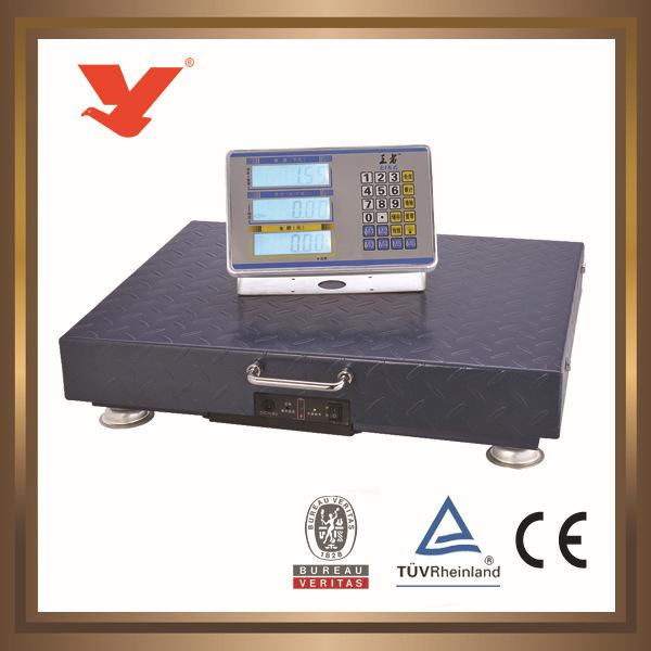 永州不锈钢无线台秤 300kg YZ-WIFI 电子计价秤衡器