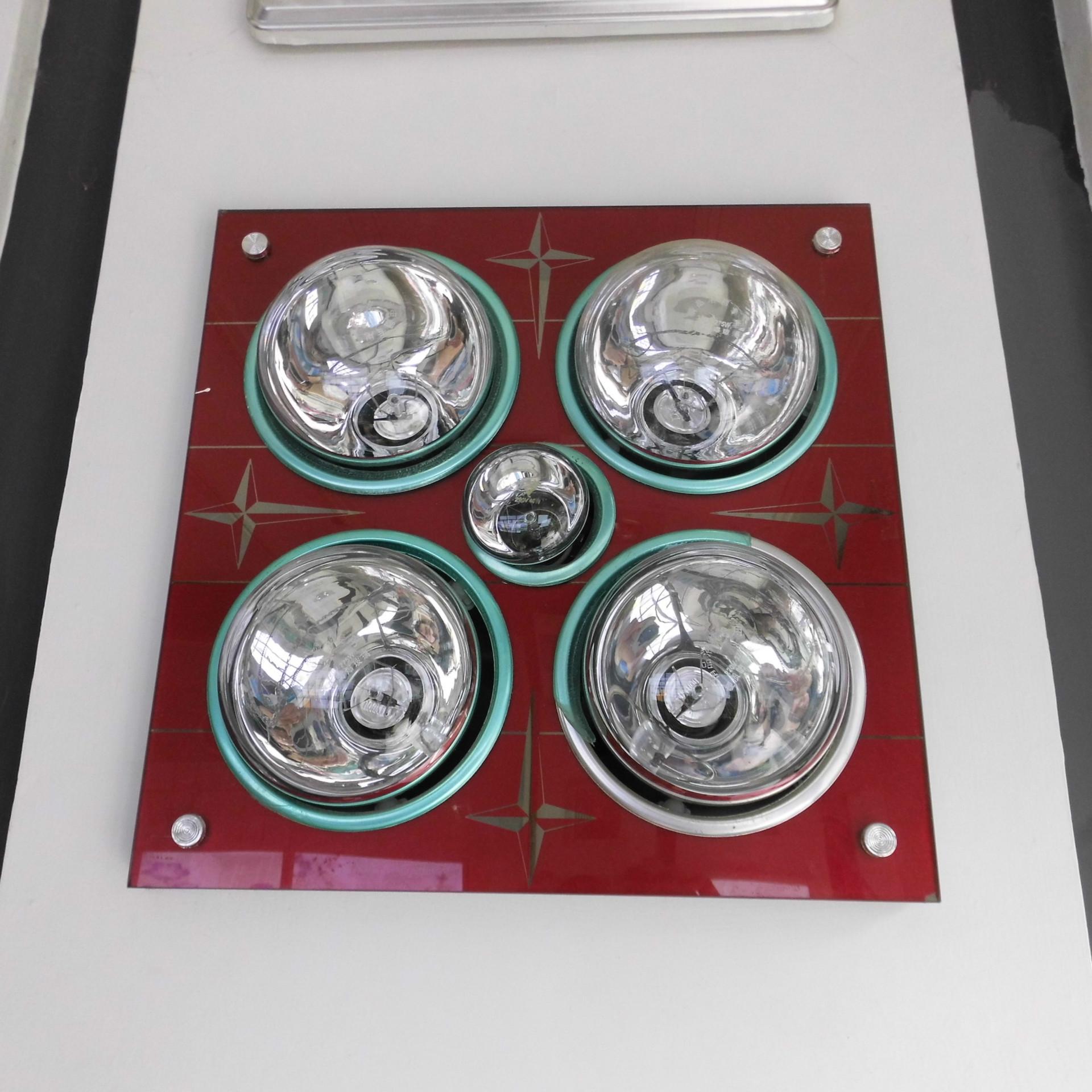 新款上市欧普 钢化玻璃面浴霸/取暖照明换气卫生间/浴室专用