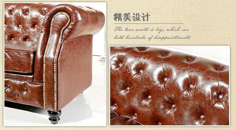客厅家具批发 欧式家具沙发 三人座沙发图片_5