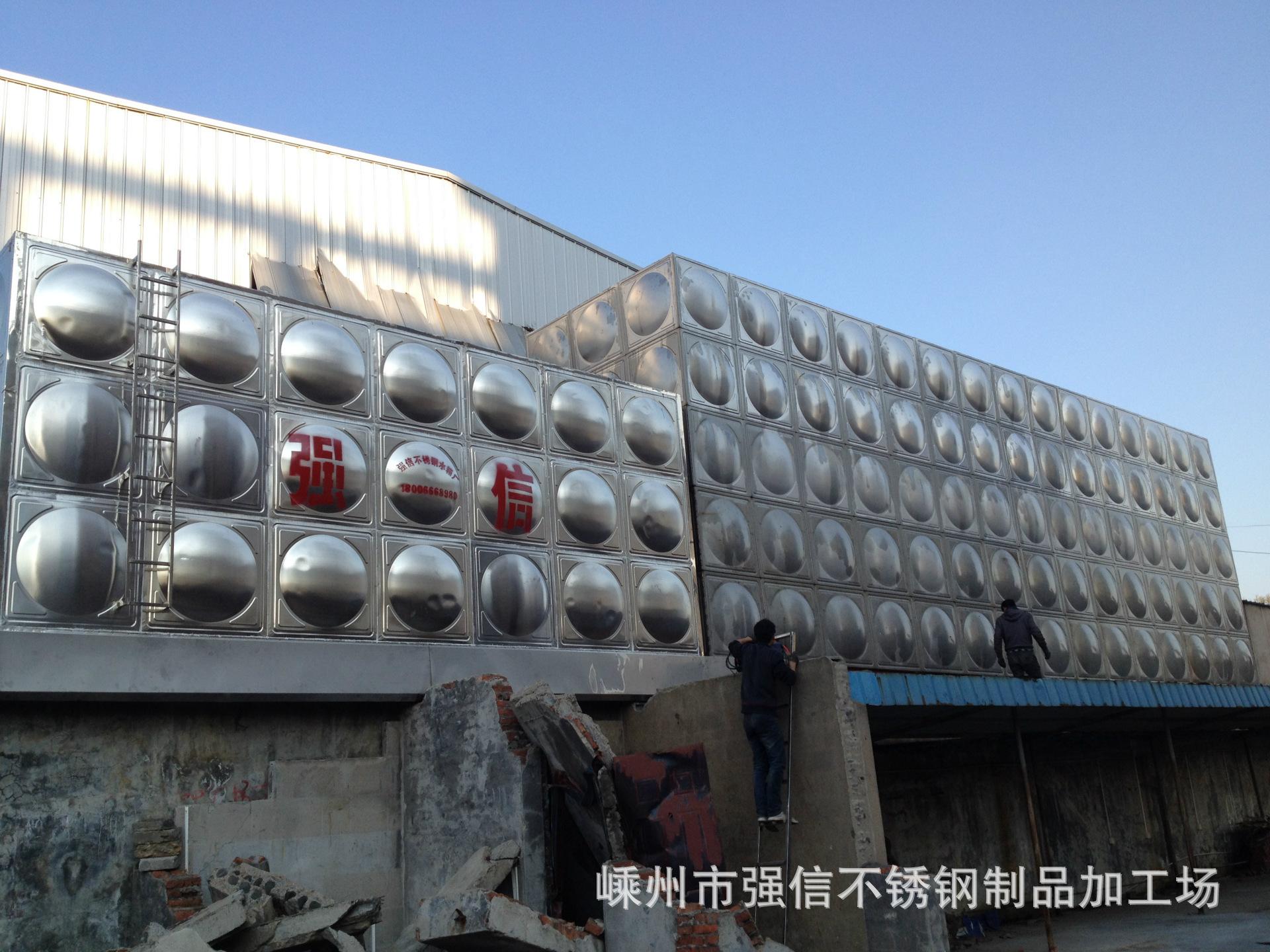 供水设备厂家直销污水处理水箱不锈钢消防水箱,不锈钢生活水箱