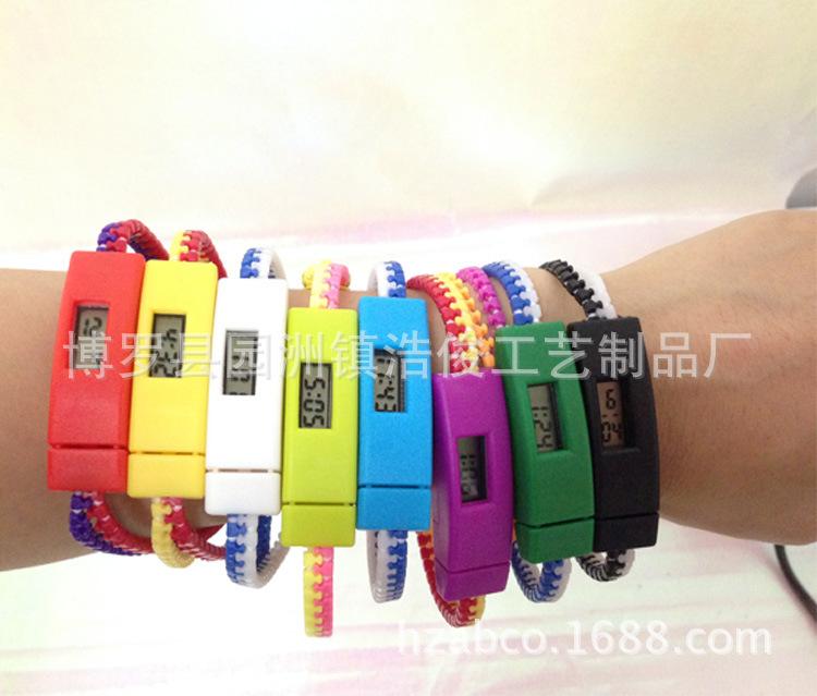 厂家直销批发儿童电子表运动电子表 拉链手表价格优惠(图)