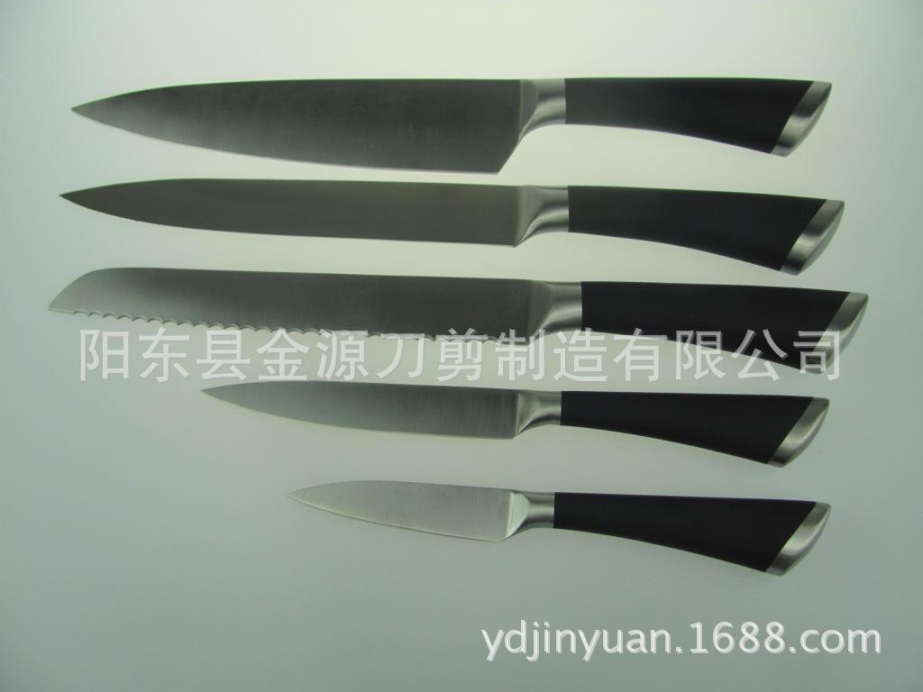 供应空心柄不锈钢用套刀防滑抗菌厨房用刀