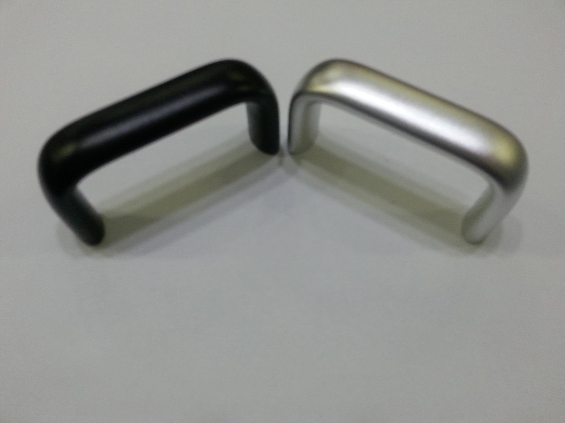 定制2U银 黑椭圆机箱把手 各类高品质机箱把手直销批发