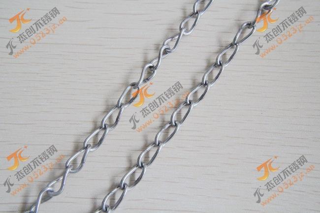 现货供应正宗304不锈钢扭链 1.5mm不锈钢扭链