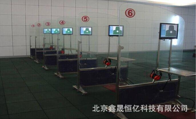 新款实感模拟射击打靶室内室外35米实物靶激光模拟射击训练
