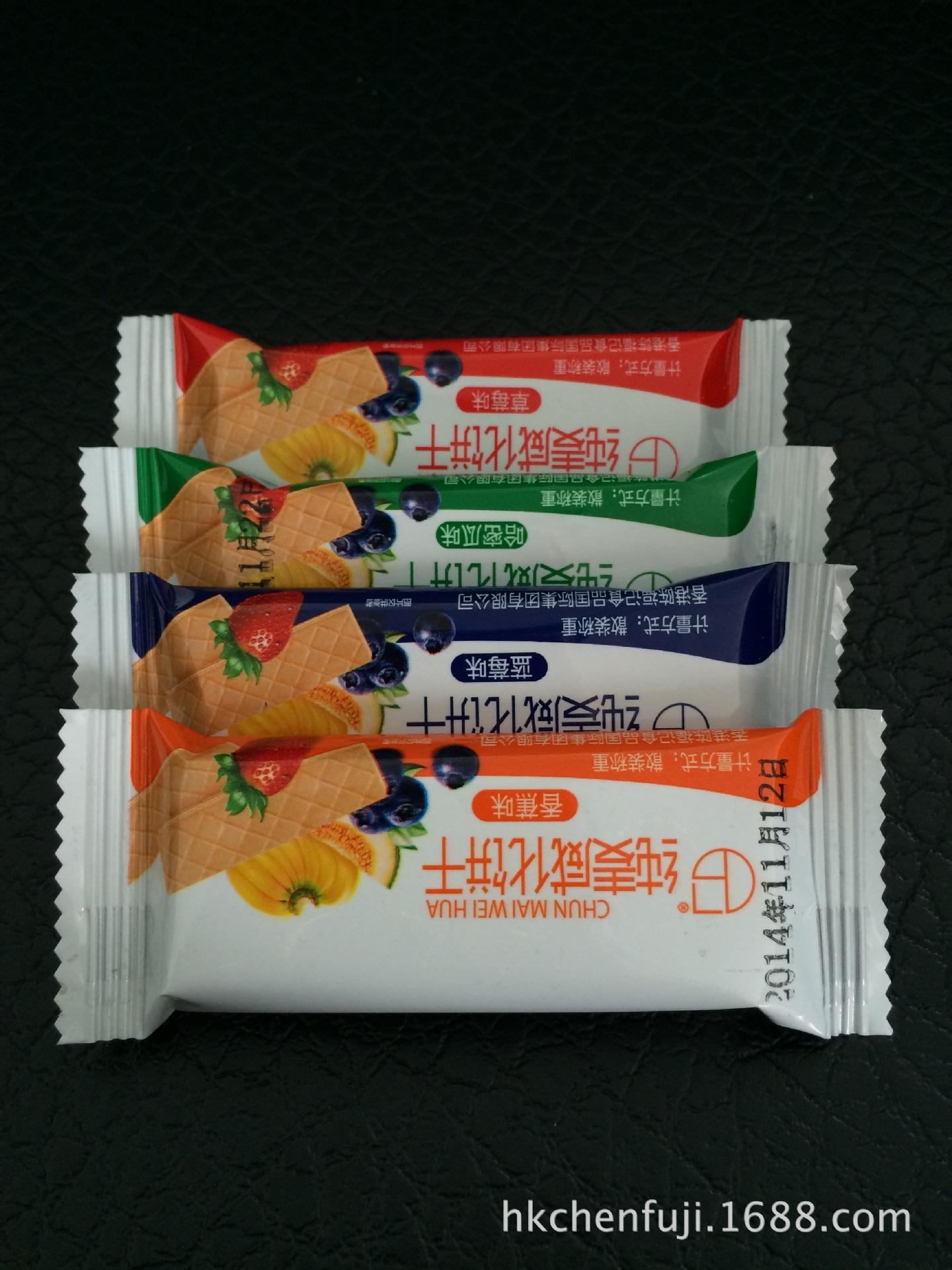 香港陈福记食品国际集团有限公司批发 香港陈福记水果味威化饼干  诚招代理商、饼干批售