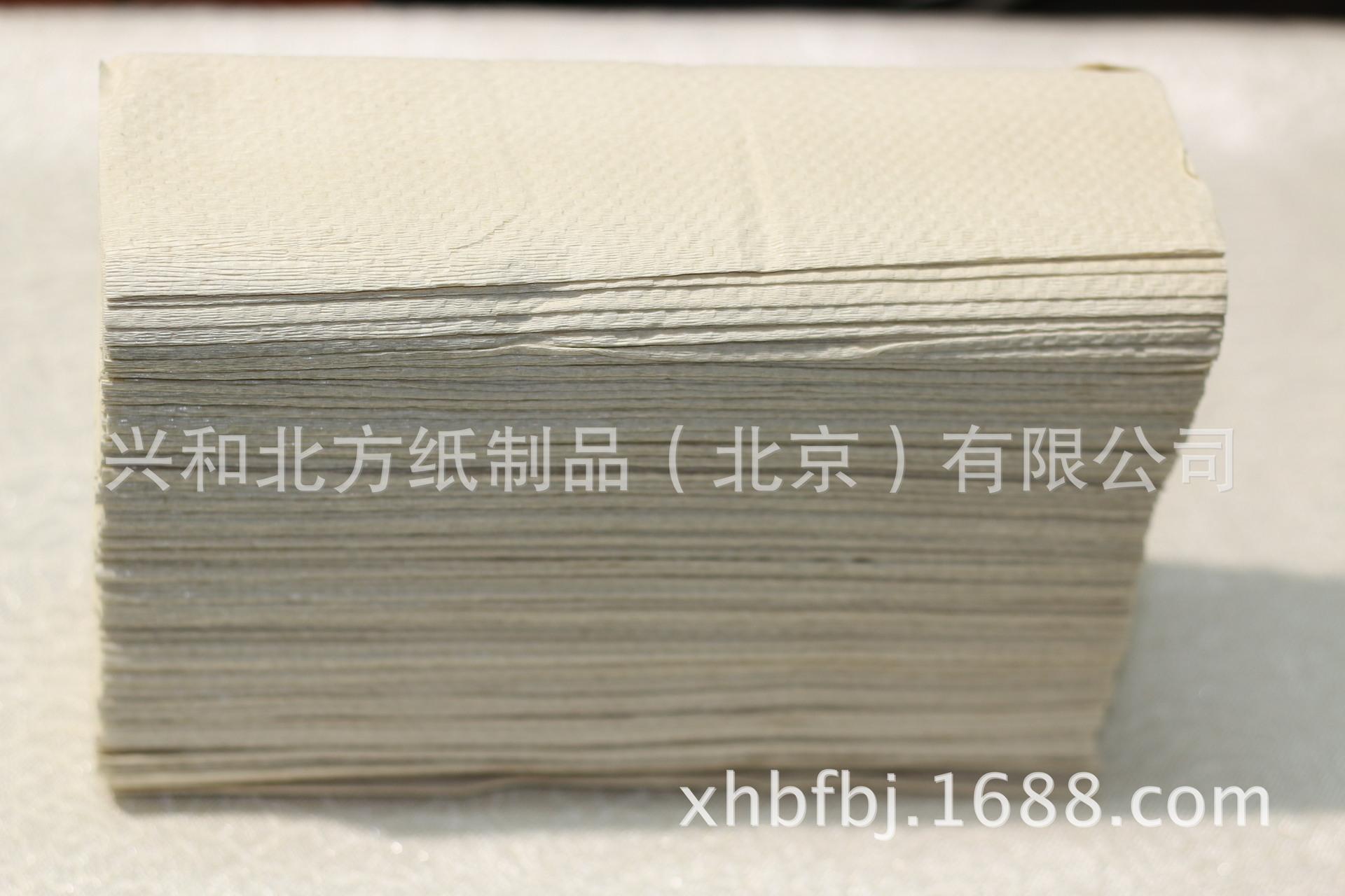 生产本色草浆200抽擦手纸 卫生纸 大盘纸 餐巾纸