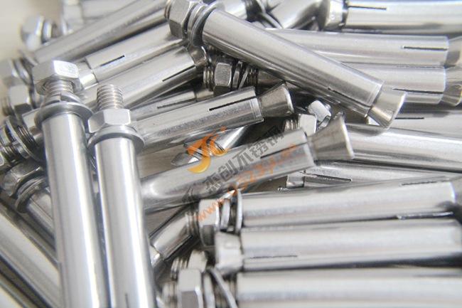 厂价直销M8不锈钢外膨胀螺丝 201不锈钢膨胀螺栓