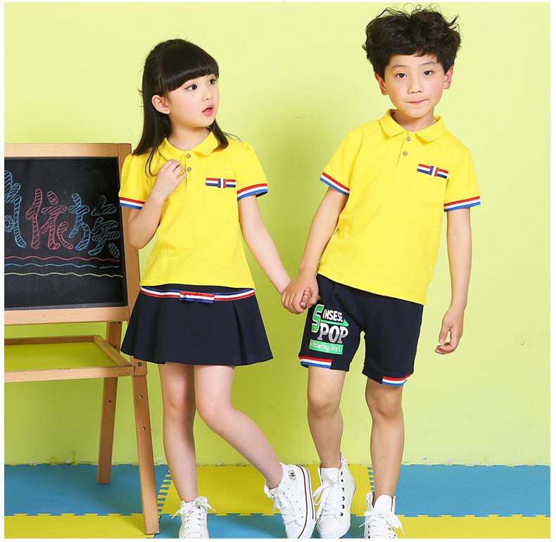 校服 校服定制 幼儿园园服班服套装儿童英伦风六一儿童节表演服小学