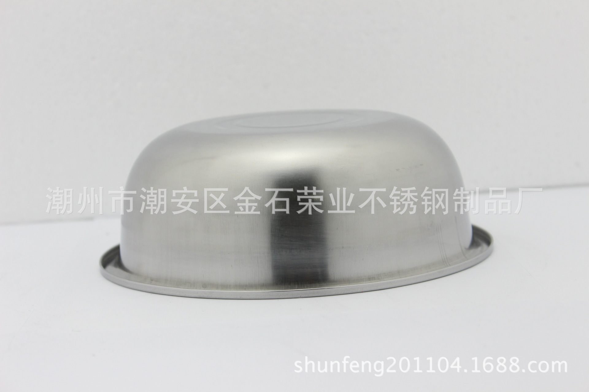 不锈钢反边调料缸 24cm不锈钢反边调料缸 多用盆 不锈钢调料缸 阿里