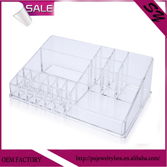 one layers clear acrylic cosme