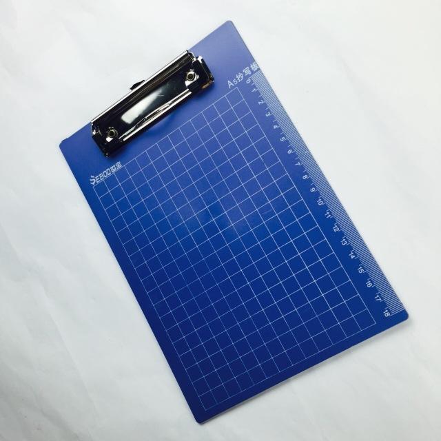 厂家直销 世宝A5板夹 塑料板夹 平板夹 书写垫板