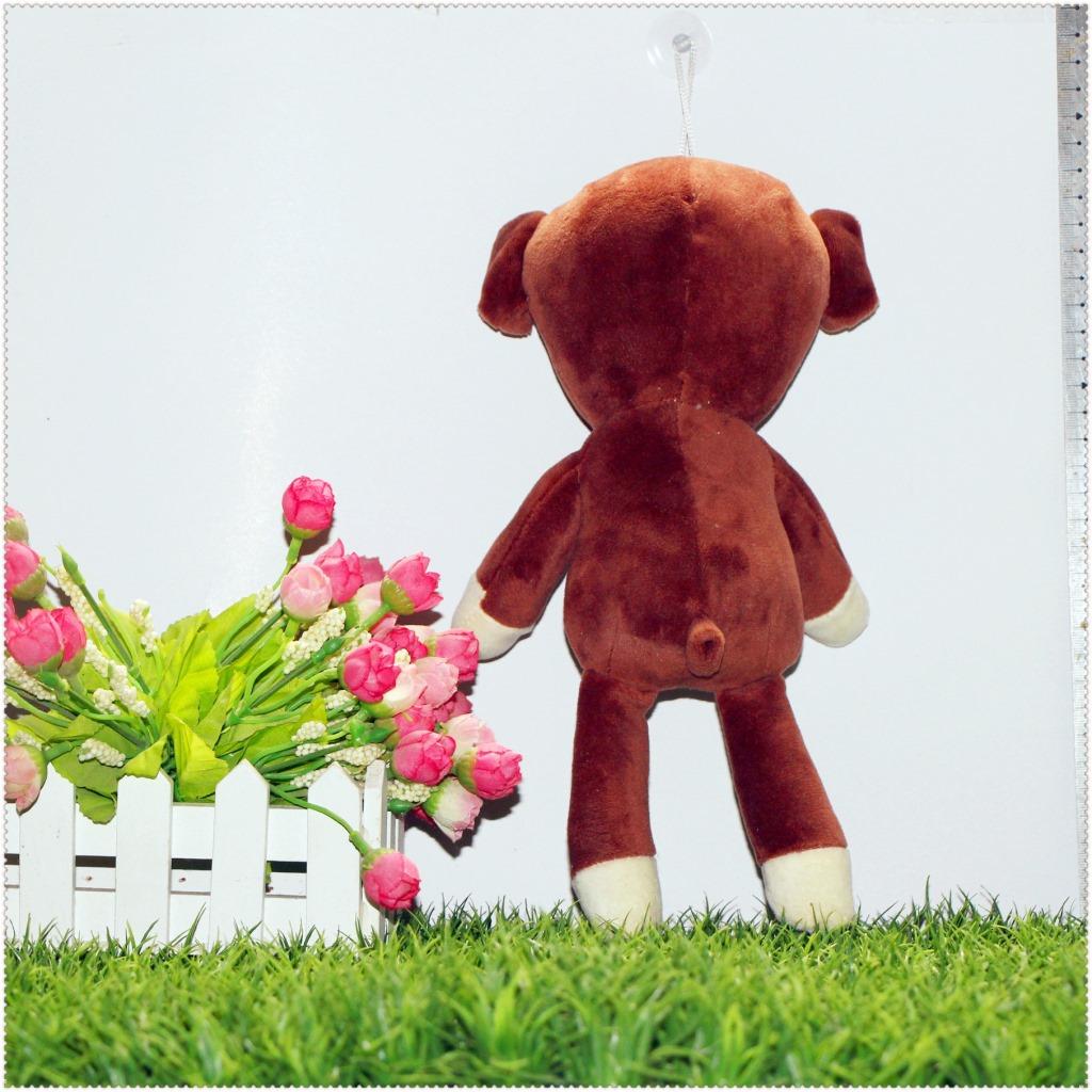 定做泰迪熊 Mr bean憨豆先生的泰迪熊玩偶 可爱毛绒玩具憨豆熊