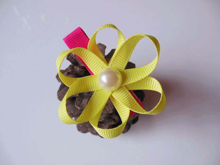 创意饰品 儿童花朵造型发饰 时尚头饰 公主 女童 时尚创意 阿里巴巴