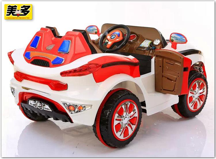 儿童电动车 带遥控大号儿童电动车越野汽车可坐 双驱四轮电动车轿车高清图片