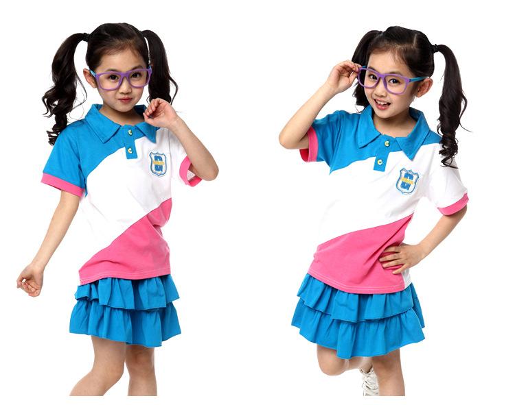 校服 校服定制 小学生校服班服六一儿童节演出服幼儿园园服男女夏季