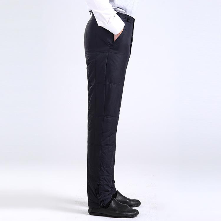 羽绒保暖裤 男式羽绒保暖裤 冬季爸爸款中老年新款 男 直销 阿里巴巴