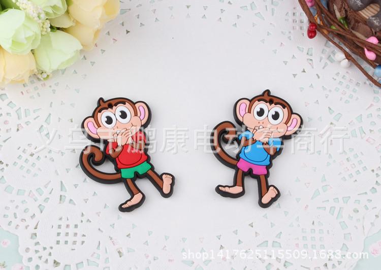 2015新款可爱卡通生肖猴子滴塑