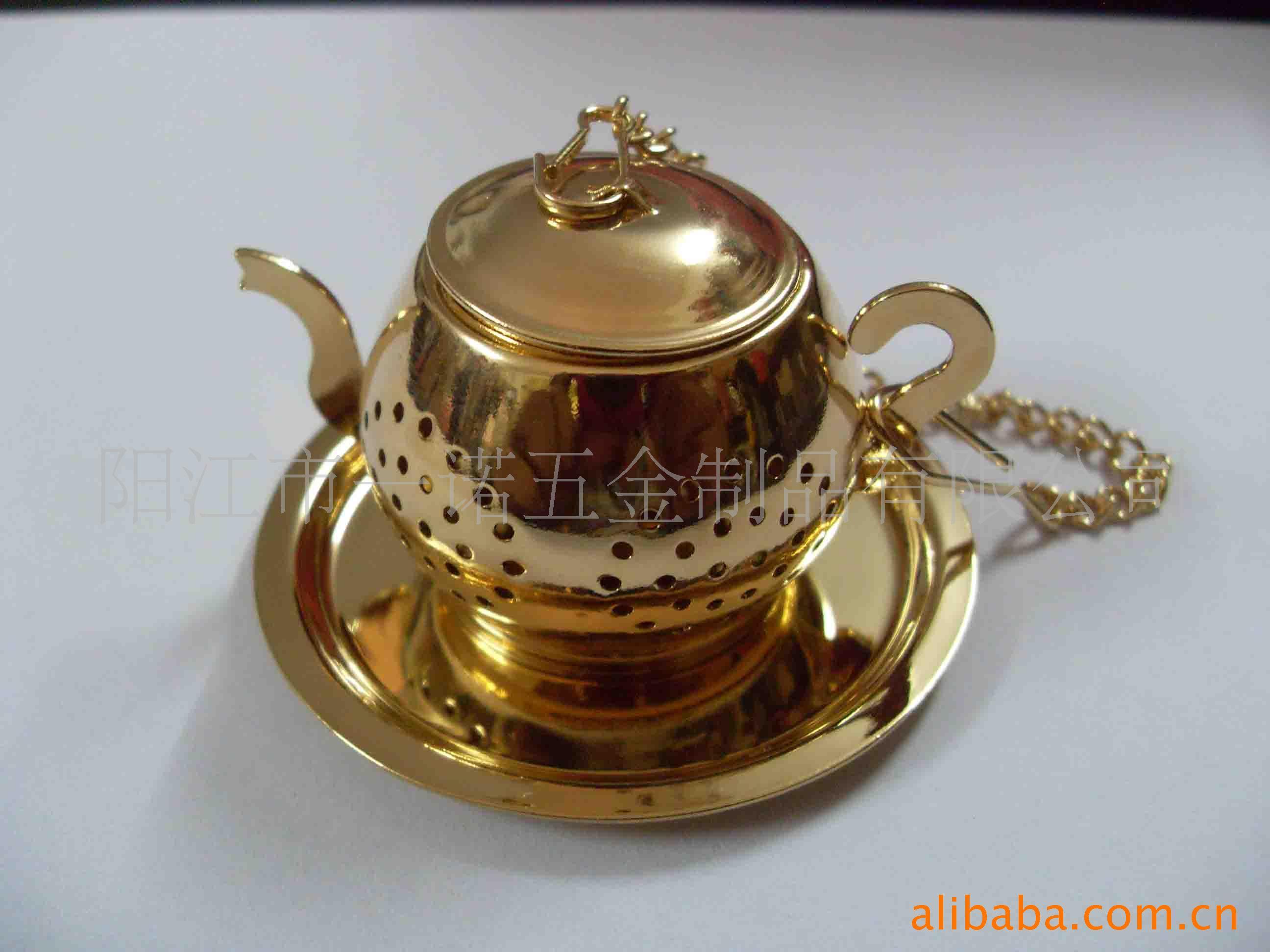 供应D-022P镀金茶球,茶隔,茶叶过滤网茶隔茶具