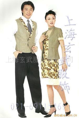 供应酒店服务员制服,酒店餐饮制服,服务员制服定做 产品服务 上海